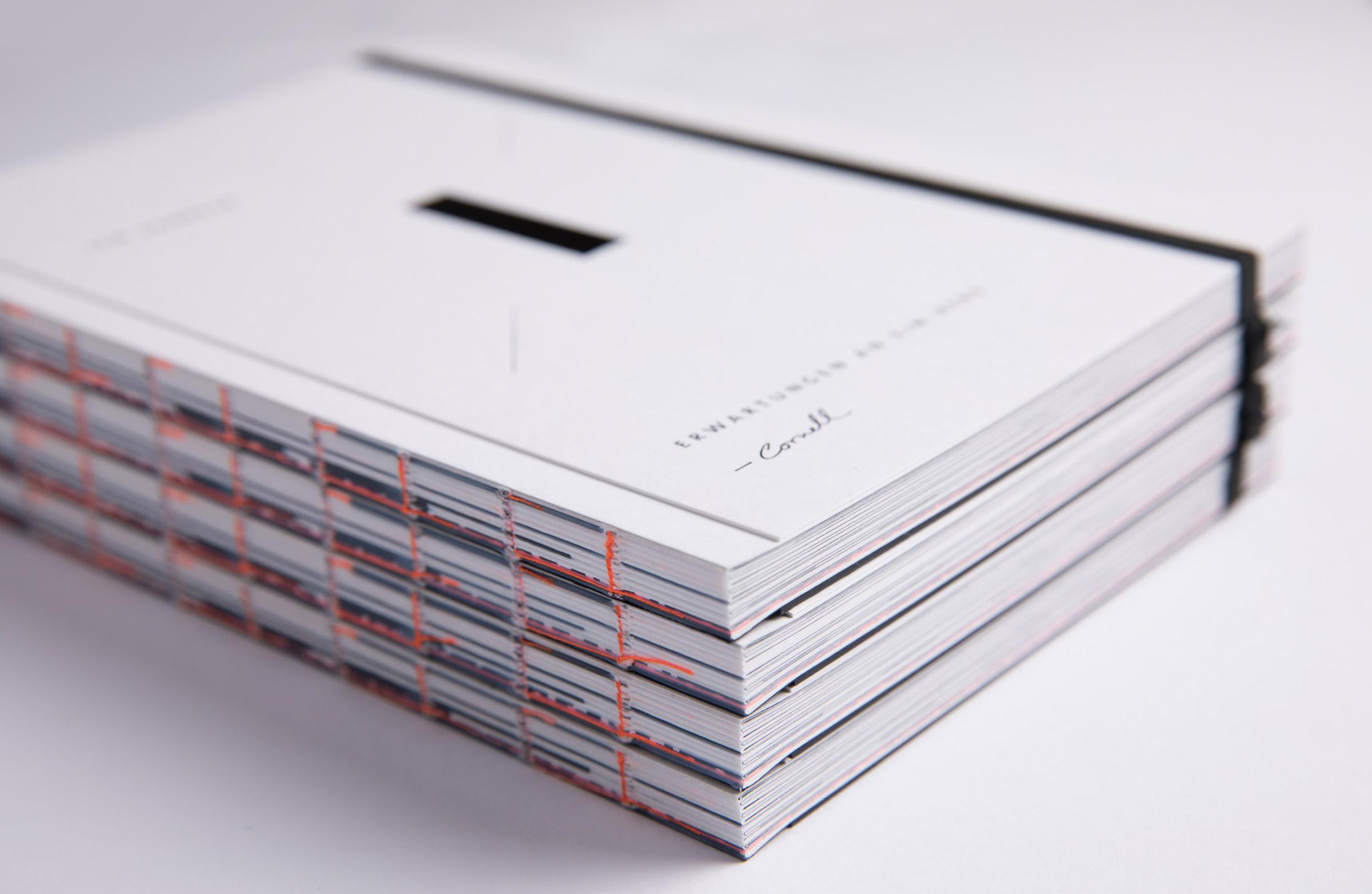 Editorial Design Buch Ich schreib Du bleibst