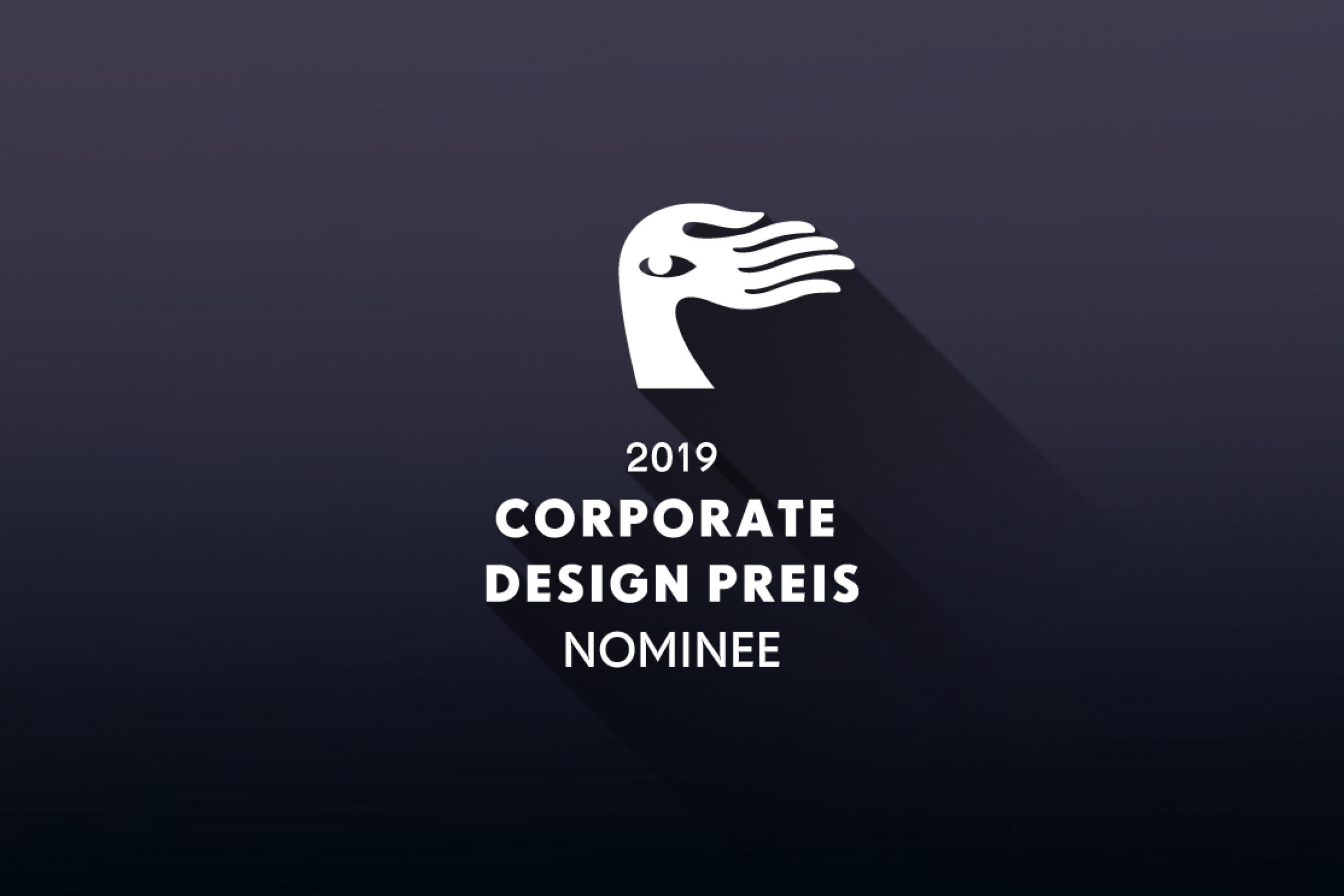 Corporate Design Preis 2019 Nominee