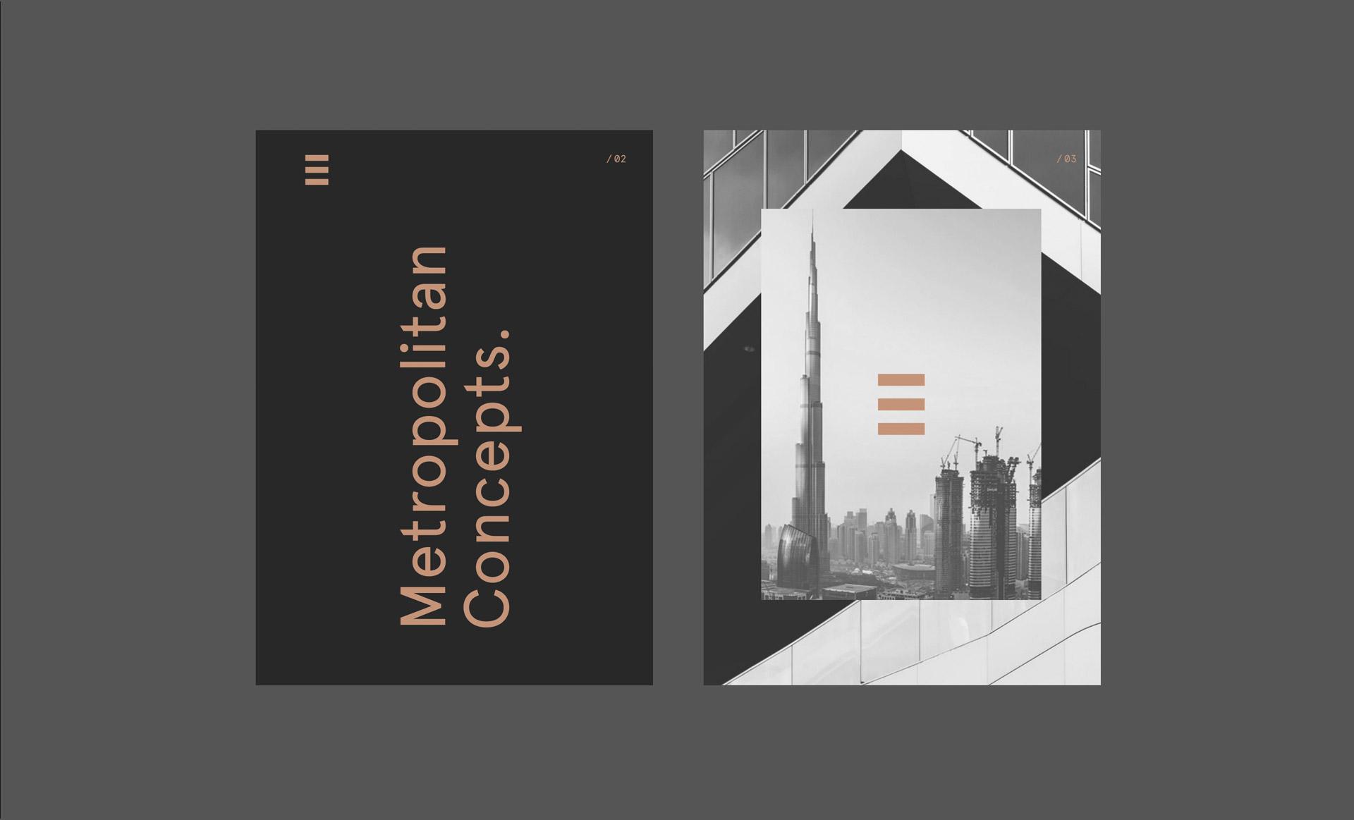Broschüre Meroplitan Concepts