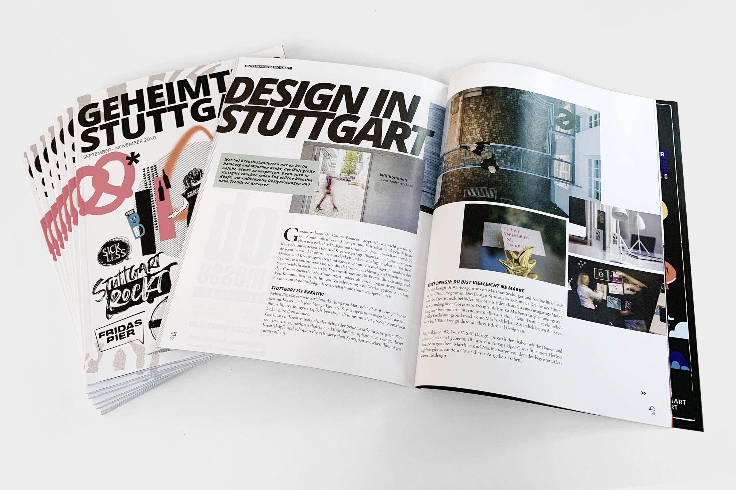 Visee design @ Geheimtipp Stuttgart