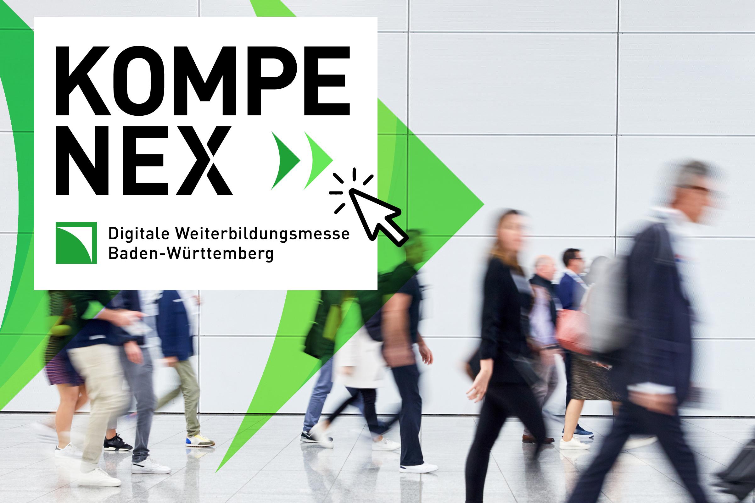 Kompenex – Digitale Weiterbildungsmesse BW